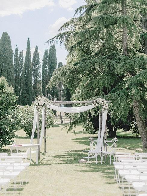 Hochzeitslocations La Pescaia Resort DJ Markus Trauung draussen