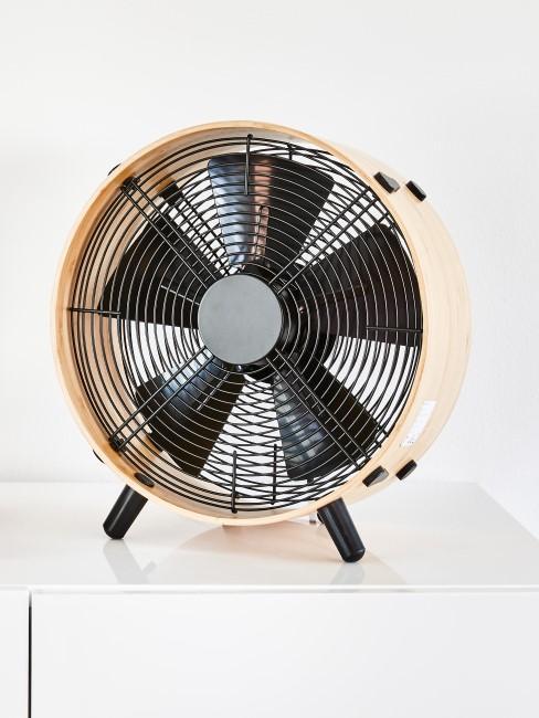 Klimaanlage selber bauen mit einem Ventilator
