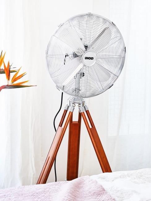 Ventilator verwenden für eine DIY Klimaanlage