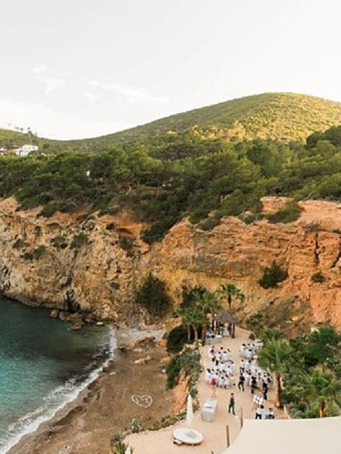 Hochzeitslocations Amante Ibiza Ansicht von oben