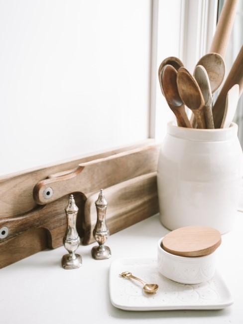 Küchenaccessoires aus Holz
