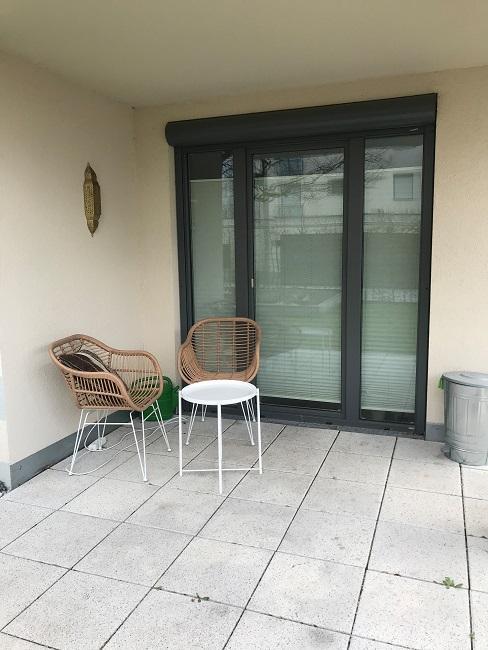 Interior Design Service Boho Terrasse Vorher