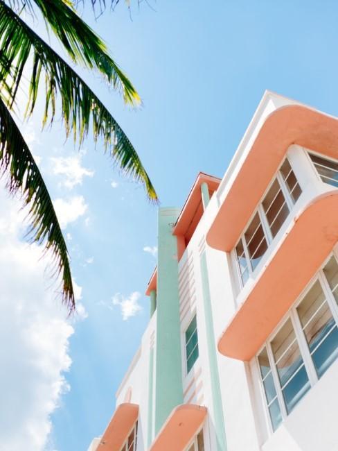 Gebäude im Art Déco Stil in Miami
