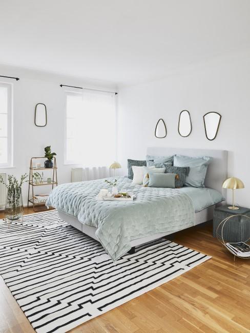 Schlafzimmer im Art Déco Stil