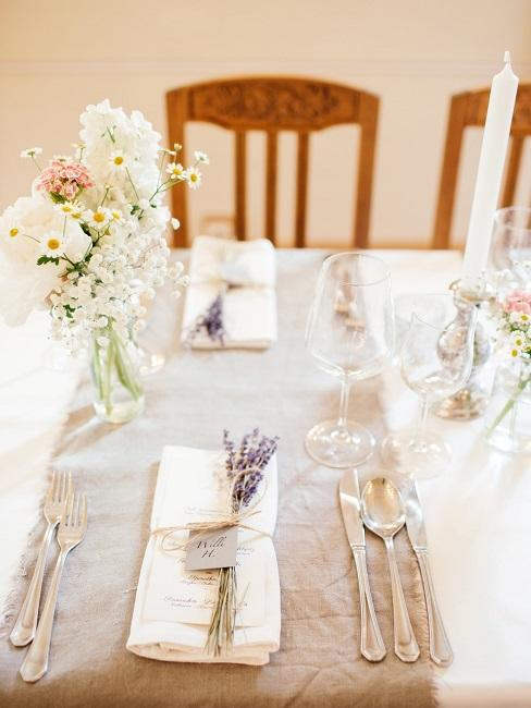 Hochzeitslocations Bamberger Haus Tischdeko