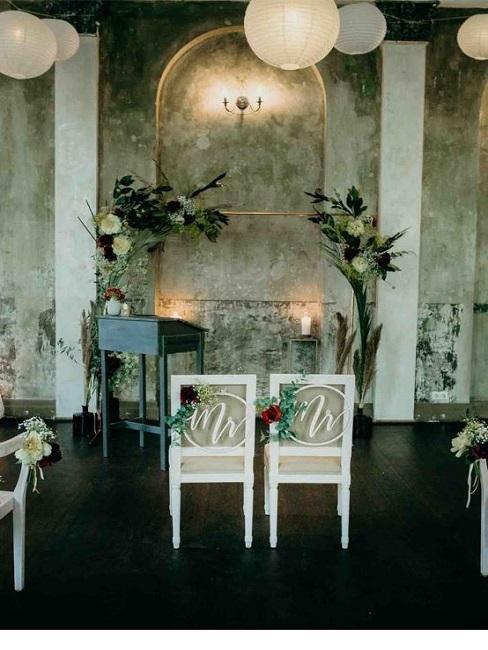 Hochzeitslocations Martin Fett Martinredet Ballsaal Studio Trauung innen