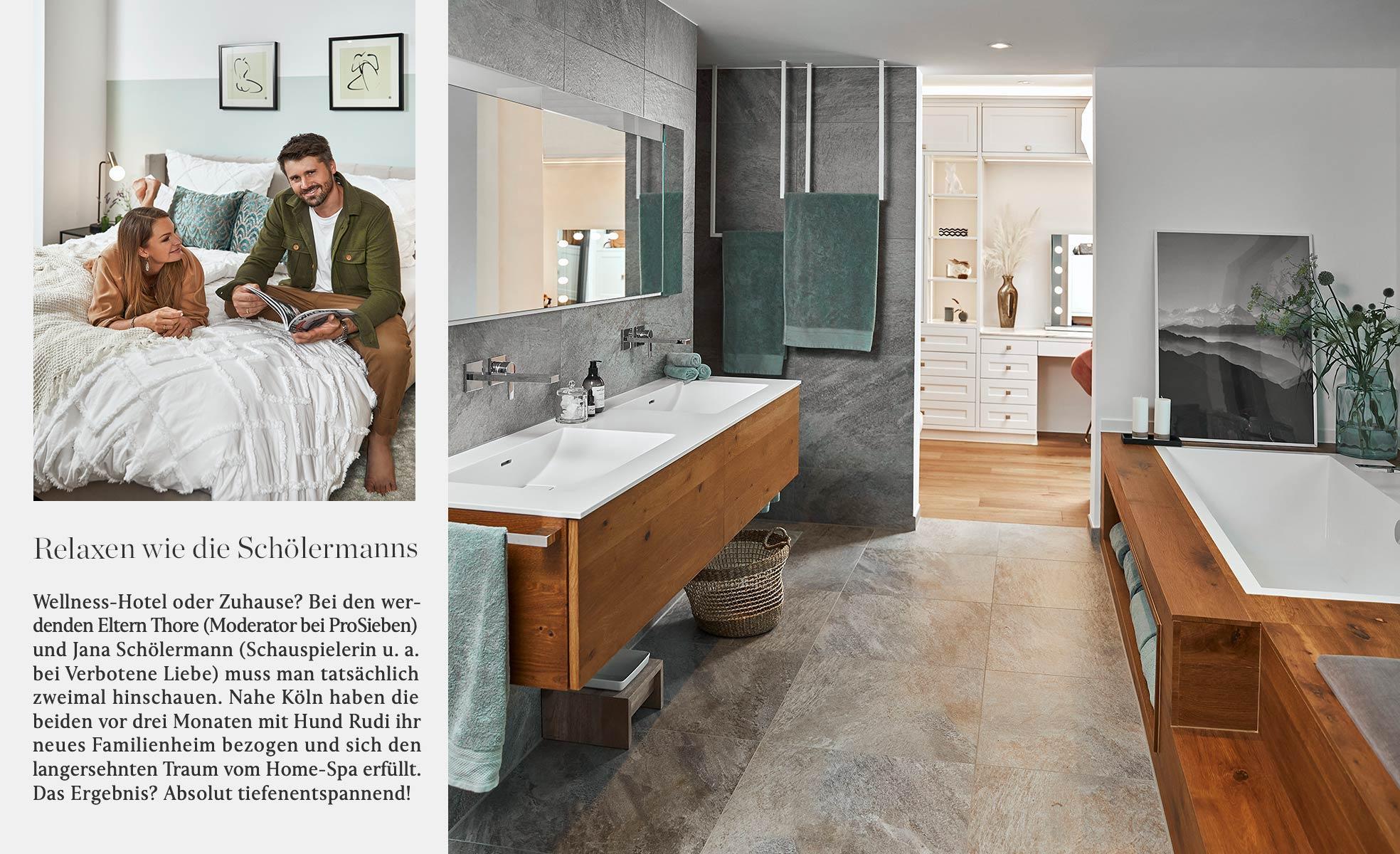 Thore Schoelermann Familie Neues Zuhause Hotel Stil