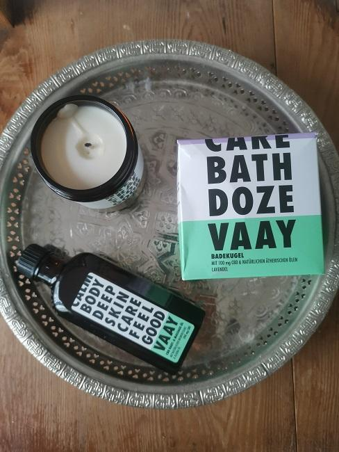 Beauty Test Hanf Kosmetik Vaay alle Produkte