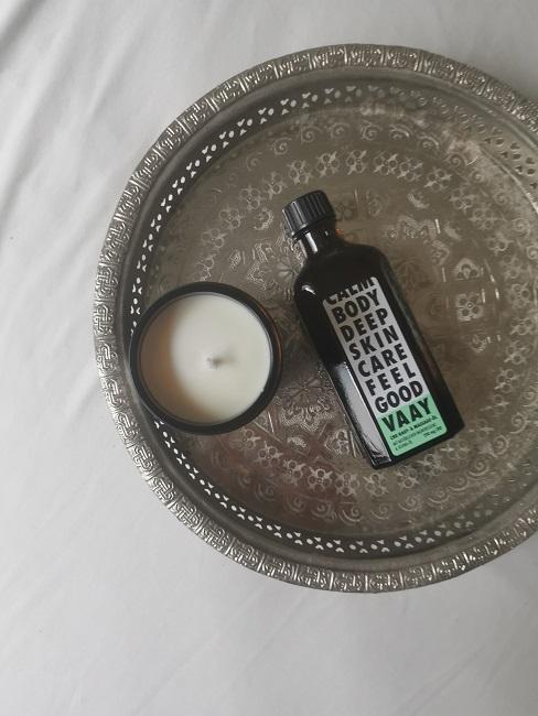 Beauty Test Hanf Kosmetik Kerze