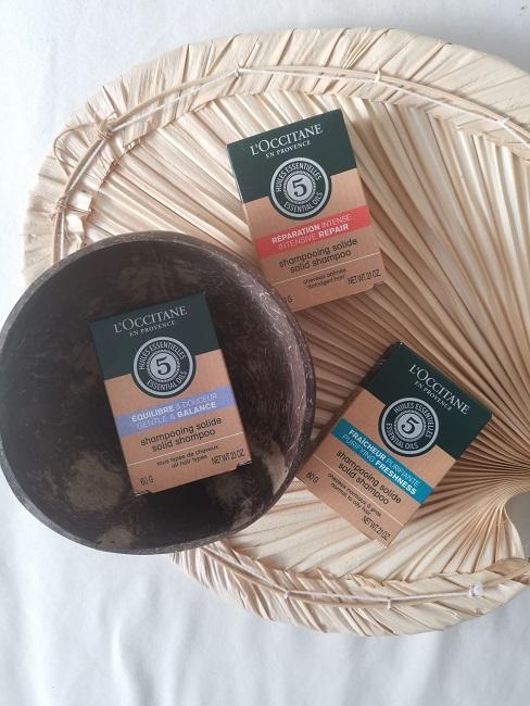 Festes Shampoo Festes Duschgel L´occitane Produkt Uebersicht