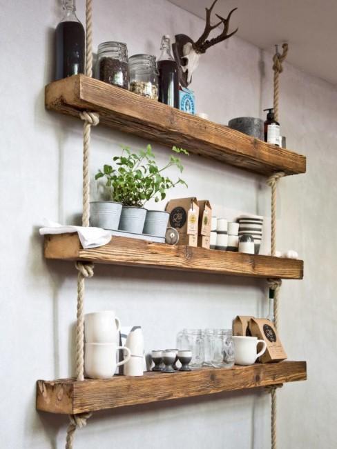 Hängeregal als DIY-Möbelstück bauen