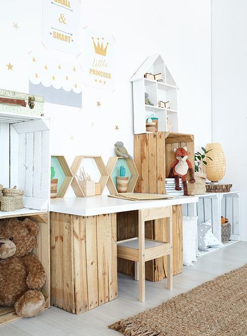 DIY-Möbel im Kinderzimmer bauen