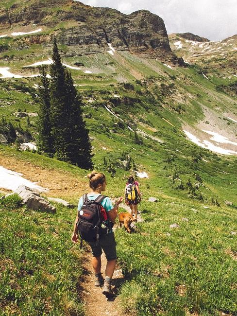 Wanderwege Wanderung Berge Frau