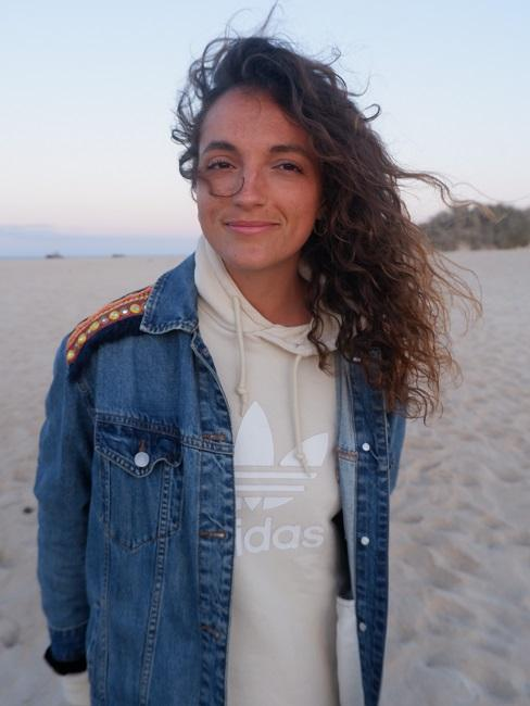 Digitale Nomaden Johanna Holzer Bild Strand