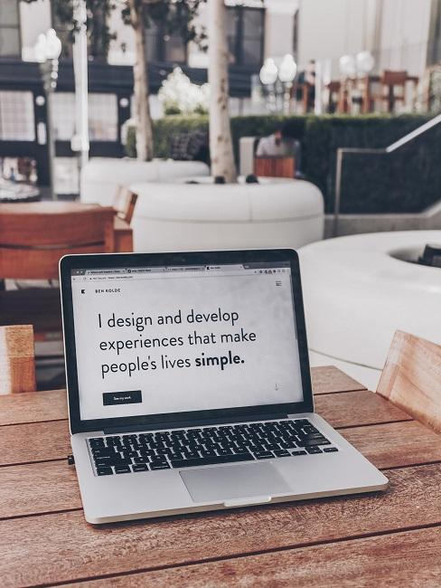 Digitale Nomaden Laptop Café