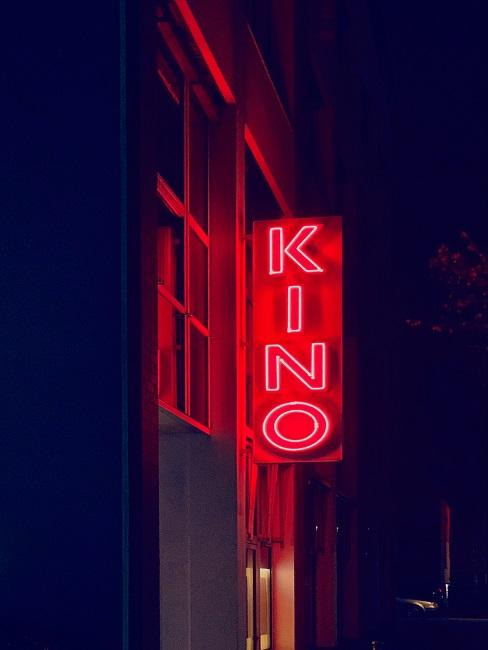 Kino LED Schild