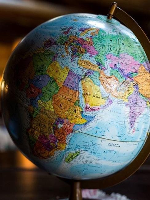 Auswandern Globus Weltkugel