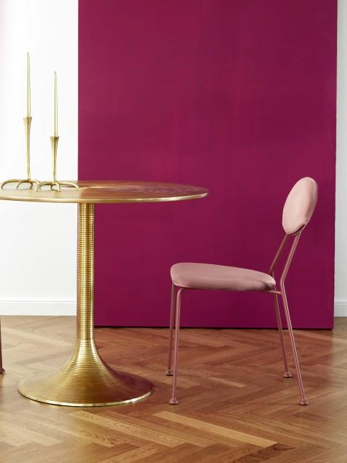 Wandfarbe Fuchsia fürs Esszimmer