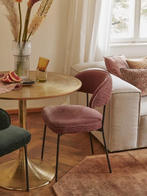 Glamouröses Wohn-Esszimmer