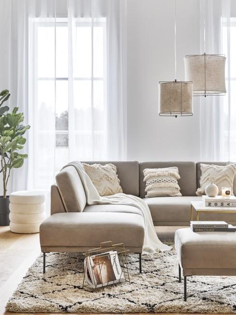 Boho Style im Wohnzimmer einrichten