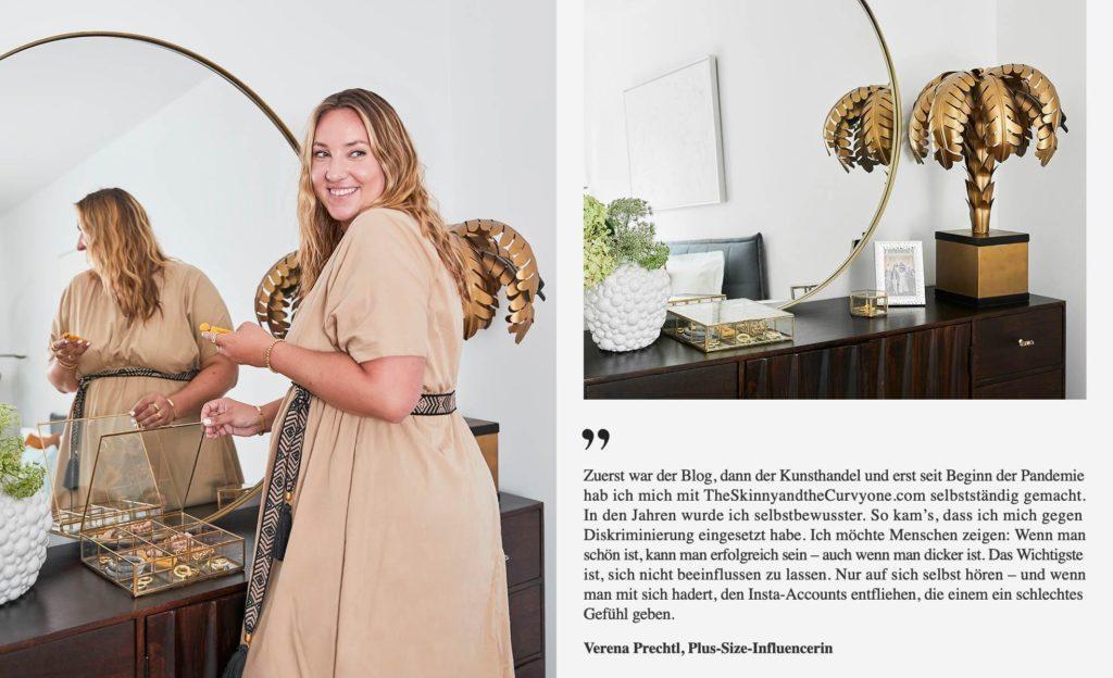 Verena Prechtl Zitat Arbeit Blog Plussize Curvy