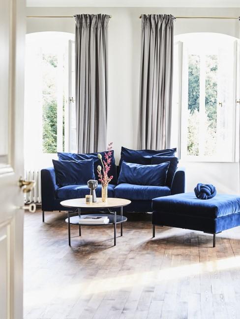 Königsblau als Trendfarbe für die Einrichtung