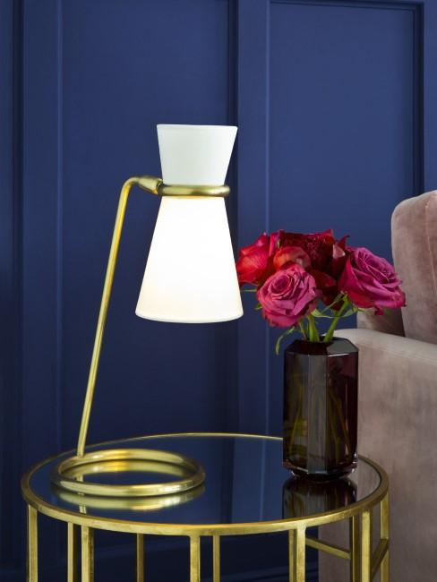 Wandfarbe Königsblau für den Art Déco Stil