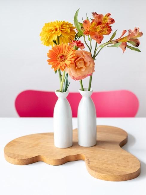 Pinkfarbener Stuhl