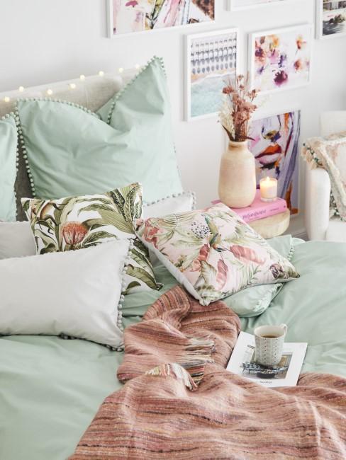 Schlafzimmer in mädchenhaftem Look