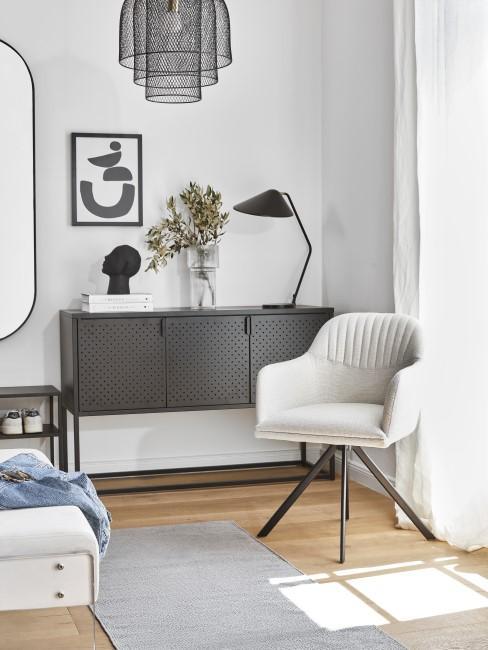 Moderne Möbel im Flur