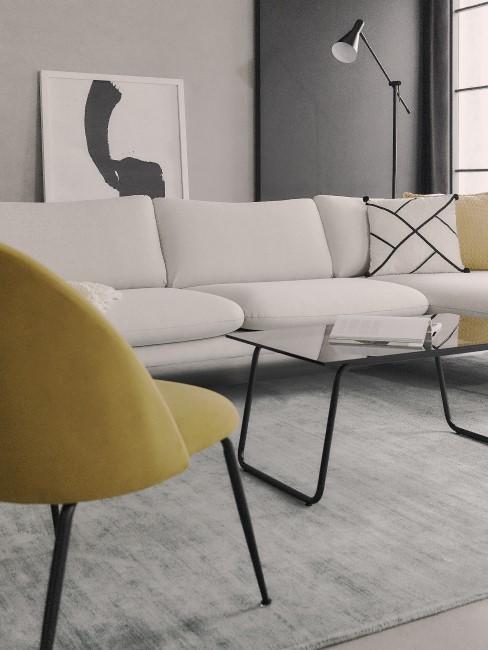 Moderne Möbel mit klaren Kanten