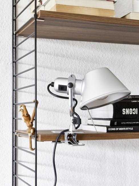 Lampe in modernem Design