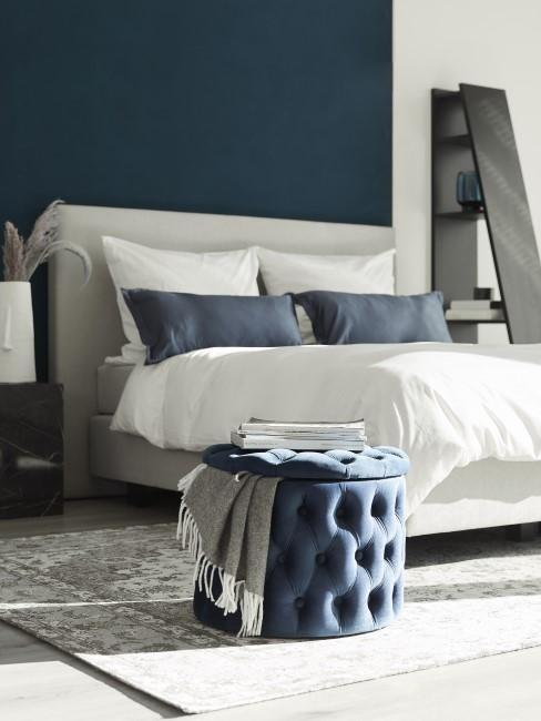 Blau als Farbe für das moderne Schlafzimmer
