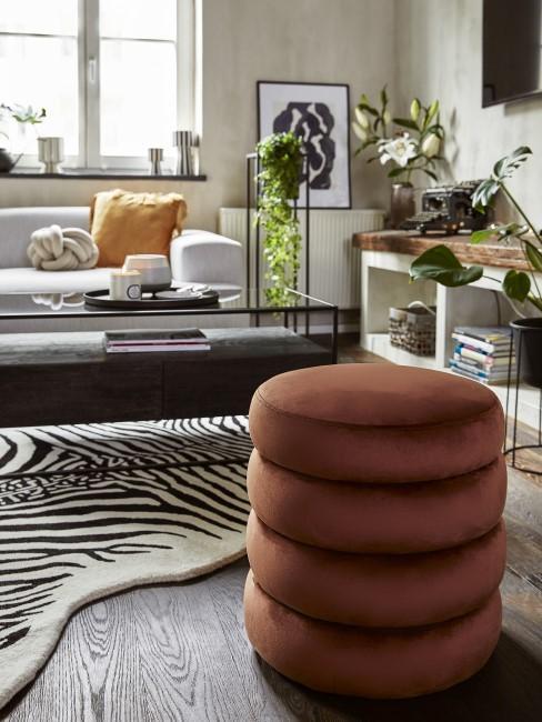 Wohnzimmer im trendigen Industrial Style