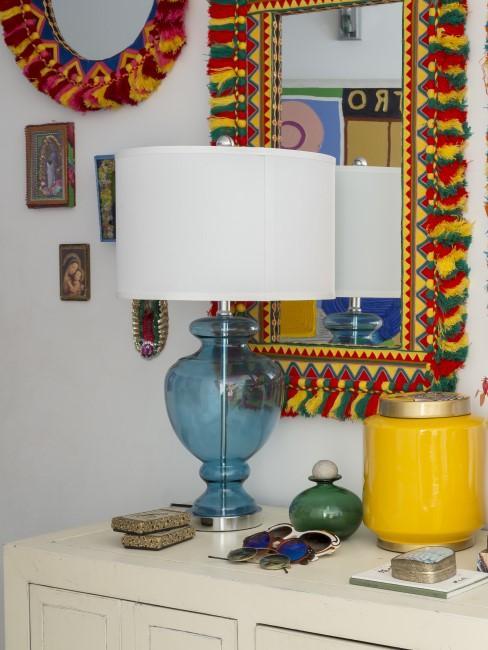 Wanddeko im mexikanischen Look