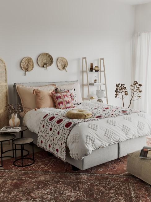 Mexikanische Deko und Textilien fürs Schlafzimmer