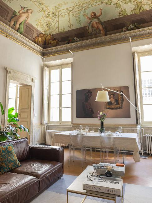 Italienischer Einrichtungsstil im Wohnzimmer