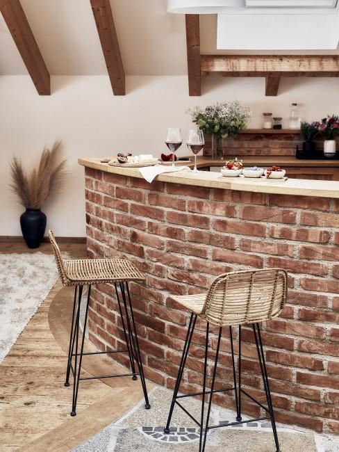Rustikale Küche im Toskana Stil