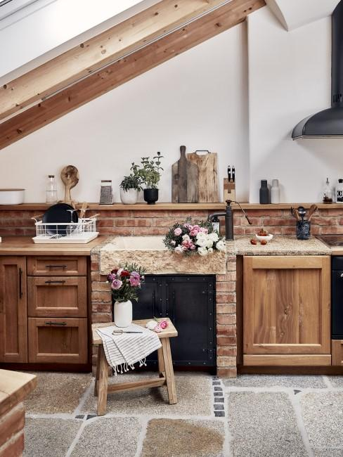 Rustikale Toskana Küche