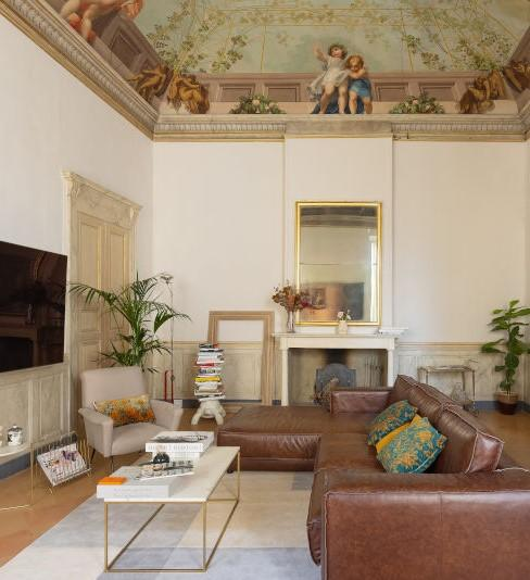 Klassisch italienisches Wohnzimmer