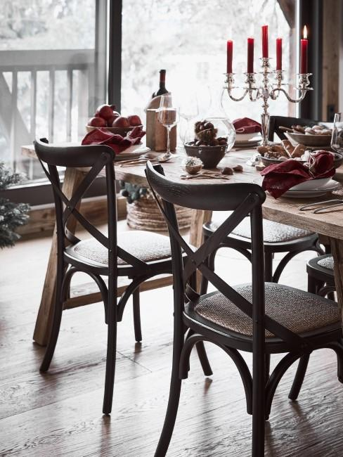 Gemütliches Esszimmer im Cottage Style