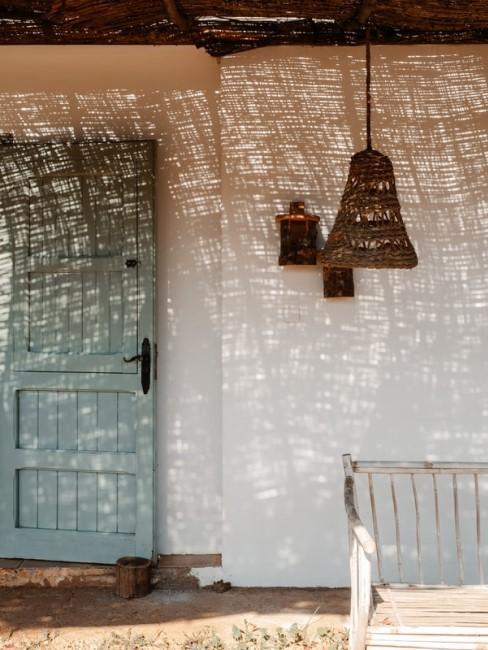 Mediterrane Häuserfassade