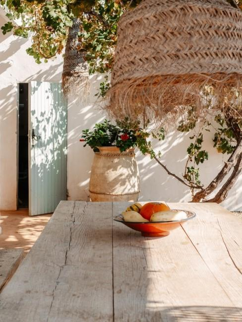 Materialien im Ibiza Look