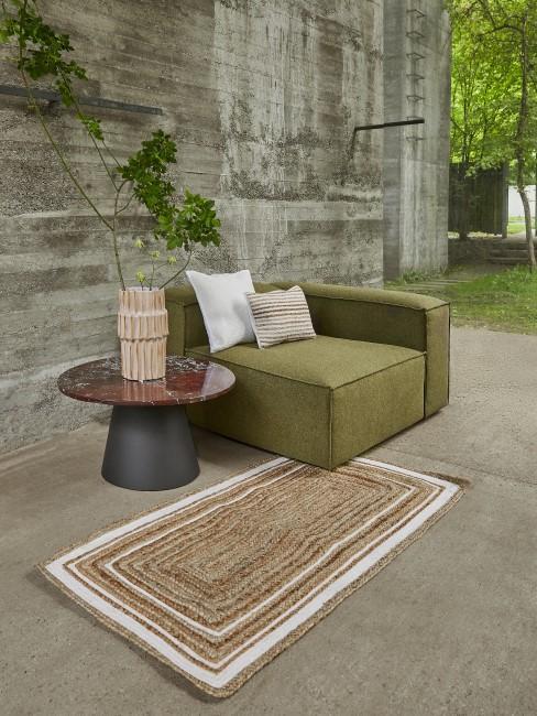 Olivgrüne Möbel als Trend