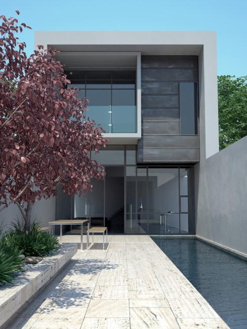 Travertin für Terrasse und Pool