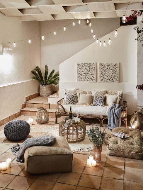 Orientalische Einrichtung für das Wohnzimmer