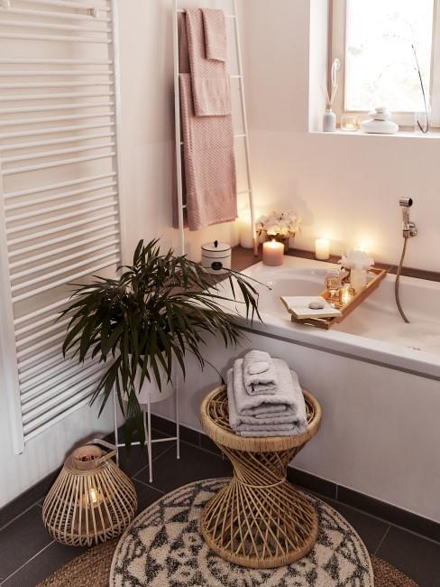 Orientalische Einrichtung fürs Bad
