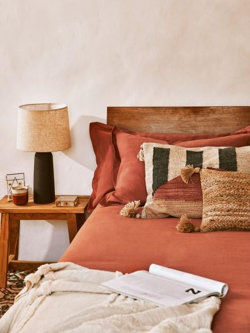 Schlafzimmer mit orientalischer Einrichtung