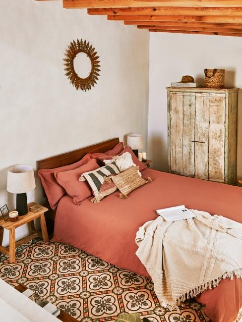Schlafzimmer mit orientalischen Möbeln