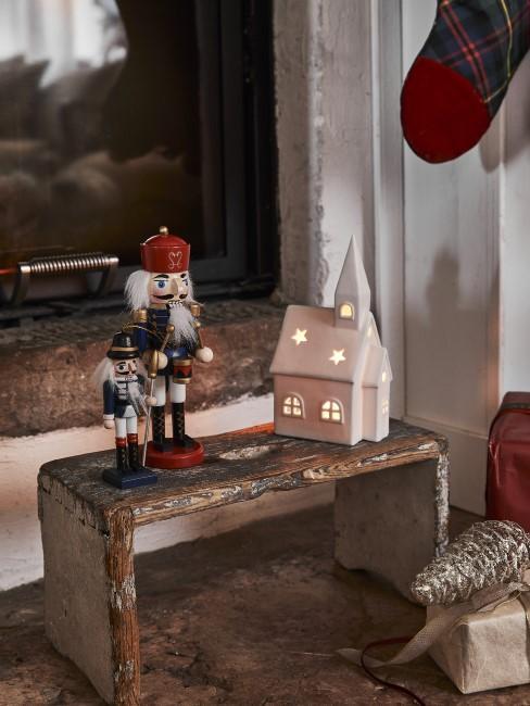 Weihnachtliche Deko im rustikalen Style